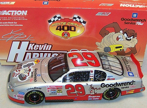 29 Kevin Harvick Diecast 2001 Looney Tunes Taz CWC 1:24 Action ARC 1