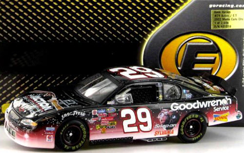 29 Kevin Harvick Diecast 2002 ET E T GMGW GM Goodwrench Action Red CWC 1:24 Action RCCA Elite 1