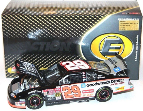 29 Kevin Harvick Diecast 2002 GMGW GM Goodwrench On A Roll Now Sell Tires CWC 1:24 Action RCCA Elite 1