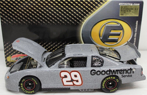 29 Kevin Harvick Diecast 2002 GMGW GM Goodwrench Test Car CWC 1:24 Action RCCA Elite 1
