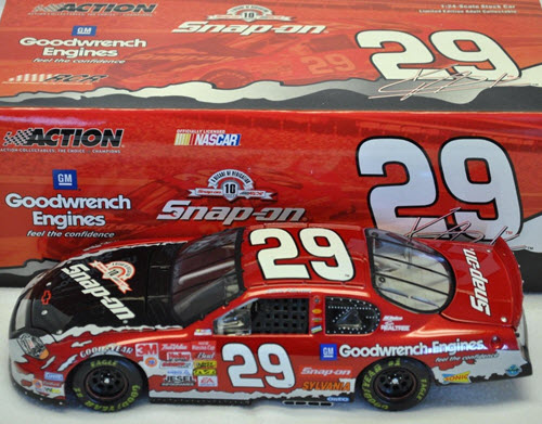 29 Kevin Harvick Diecast 2003 GMGW GM Goodwrench Snap on Snap On CWC 1:24 Action ARC 1