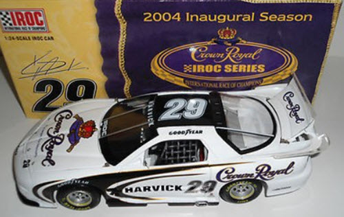 29 Kevin Harvick Diecast 2004 Crown Royal IROC Firebird CWC 1:24 Action ARC 1