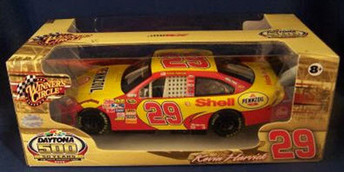 29 Kevin Harvick Diecast 2008 Pennzoil Shell 2007 Daytona Champion 50 Years CWC 1:24 WC Winners Circle 1