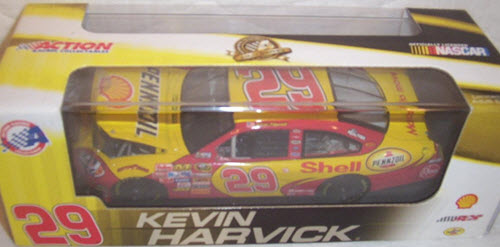 29 Kevin Harvick Diecast 2008 Pennzoil Shell CWC 1:24 Action ARC Gold Series 1