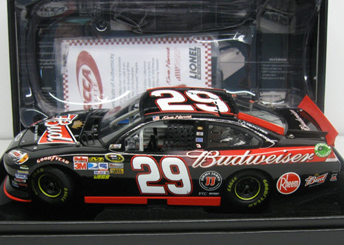 29 Kevin Harvick Diecast 2012 Bud Budweiser CWC 1:24 Lionel Action RCCA Elite 1