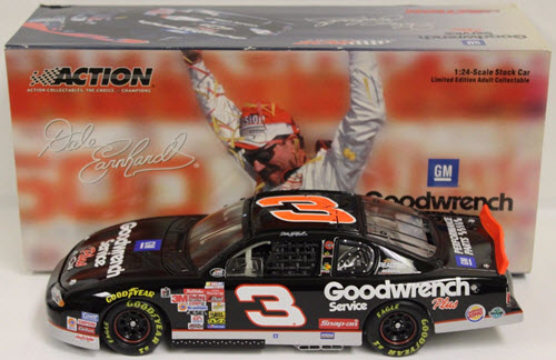 3 Dale Earnhardt Sr Diecast 2000 GMGW Goodwrench Richmond No Bull 2003 CWB Bank 1:24 Action ARC 1