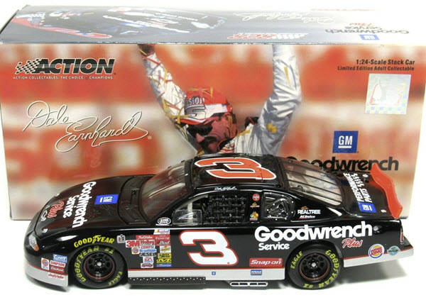 3 Dale Earnhardt Sr Diecast 2000 GMGW Goodwrench Richmond No Bull 2003 CWC 1:24 Action ARC 1
