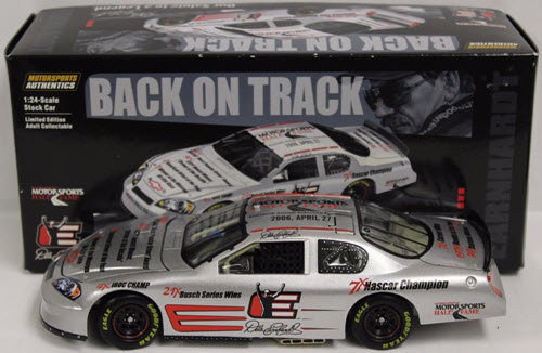 3 Dale Earnhardt Sr Diecast 2006 HOF Hall Of Fame Back On Track CWC 1:24 Action ARC 1