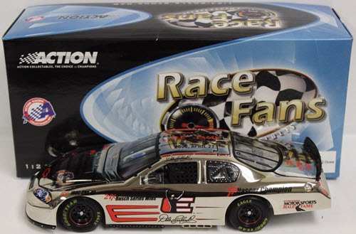 3 Dale Earnhardt Sr Diecast 2006 HOF Hall Of Fame Back On Track CWC 1:24 QVC RFO Race Fans Only Chrome 1