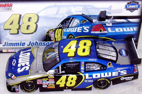 48 Jimmie Johnson Diecast 2007 Lowes CoT CWC 1:24 Lionel Action ARC 1