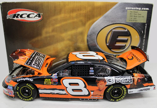 8 Tony Stewart Diecast 2003 NASCAR 3 Three Doors Down CWC 1:24 Action RCCA Elite 1b