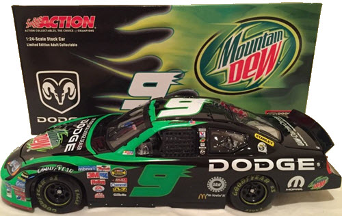 9 Kasey Kahne Diecast 2005 Mountain Dew CWC 1:24 Action ARC 1