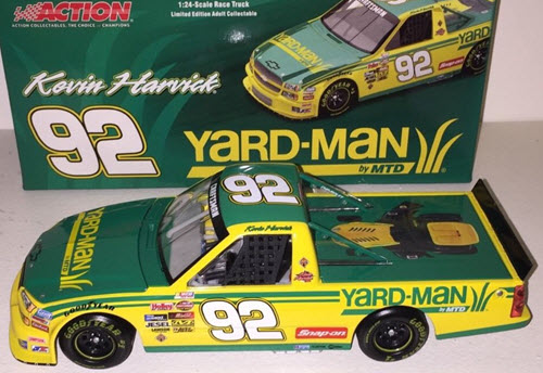 92 Kevin Harvick Diecast 2005 Yardman Yard Man CWT Silverado Super Truck 1:24 Action ARC 1