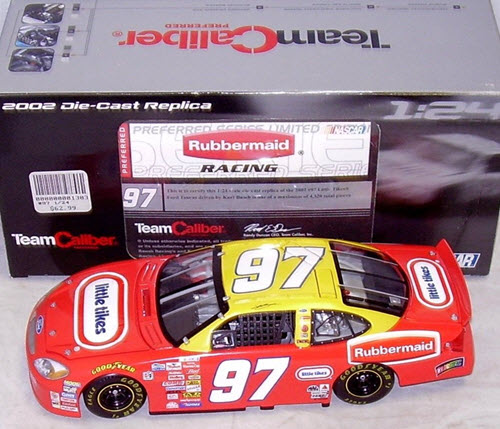 97 Kurt Busch Diecast 2002 Little Tikes Kurts Coupe CWC 1:24 Team Caliber Preferred 1