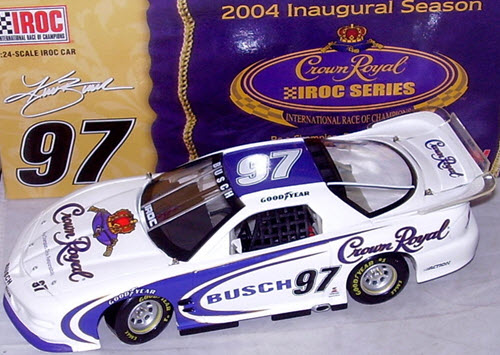 97 Kurt Busch Diecast 2004 Crown Royal IROC Firebird CWC 1:24 Action ARC 1