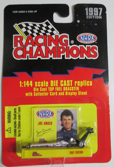 Joe Amato Diecast 1997 Keystone Top Fuel Dragster 1:144 Racing Champions 1997 Edition