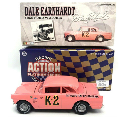 K2 Dale Earnhardt Sr Diecast 1956 Dayvaults Crown Victoria 1998 CWC 1:24 Action ARC Pink Roof 1