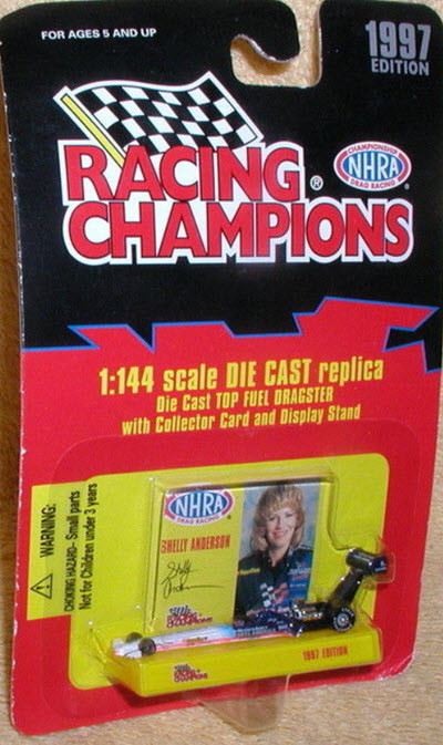 Shelly Anderson Diecast 1997 Western Auto Top Fuel Dragster 1:144 Racing Champions 1